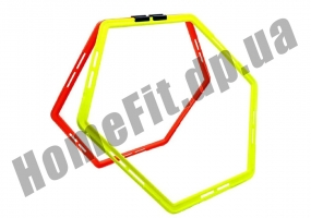 Тренировочный шестиугольник Soccer 4-12 ячеек: фото 6
