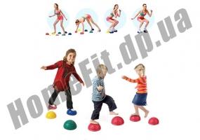 Балансировочная массажная полусфера Balance Kit фото 1