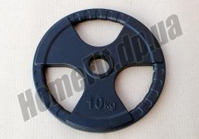 Блин литой 10 кг для штанги (52 мм) серии SL: фото 2