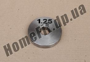 Блин стальной Н/О 1,25 кг: купить Полтава и Кременчуг