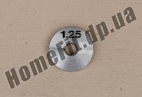 Блин стальной Н/О 1,25 кг: купить Запорожье и Мелитополь