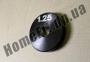 Блин стальной 1,25 кг купить в Харькове и Сумах