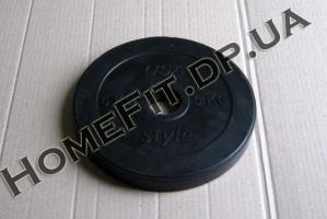Блин резина 5 кг (25/30/52 мм)