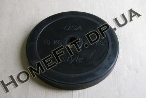 Блин резина 10 кг (25/30/52 мм)