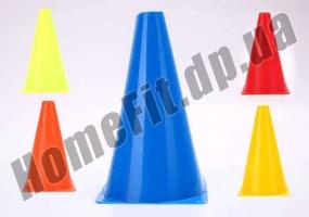 Фишка-конус для разметки поля 17÷45 см спортивная: фото 1