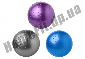 Фитбол FiBa 65 см комбинированный: фото 4