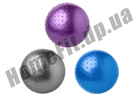 Фитбол FiBa 75 см комбинированный: фото 4