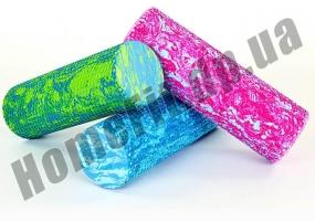 Ролик пенный для массажа Foam Roller 45 см фото 1