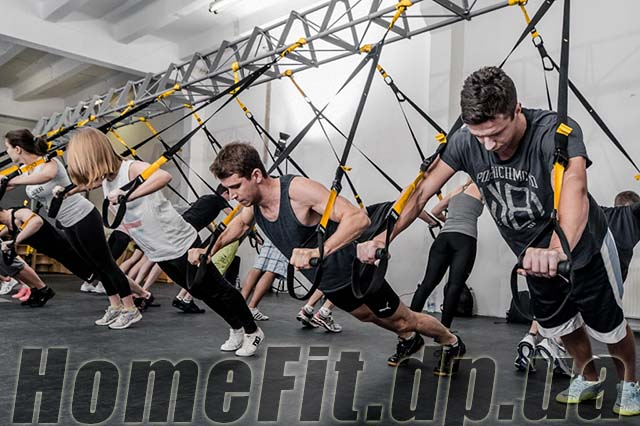 Петли TRX Suspension Trainer - тренировка