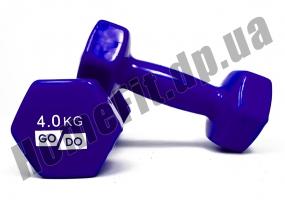 Гантели для фитнеса GoDo 4 кг: фото 1