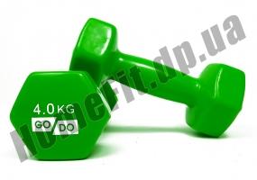 Гантели для фитнеса GoDo 4 кг: фото 2