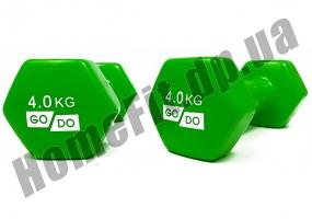 Гантели для фитнеса GoDo 4 кг: фото 5
