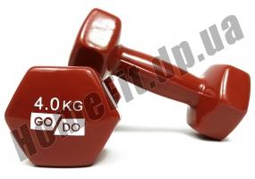 Гантели для фитнеса GoDo 4 кг: фото 3
