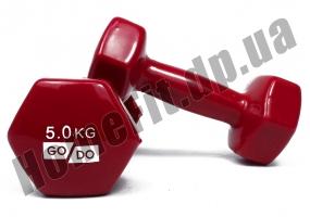 Гантели для фитнеса GoDo 5 кг: фото 5