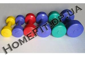 Гантели для фитнеса - ряд 0,5-4 кг продажа в Украине