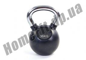 Гиря ZS для кроссфита и функционального тренинга от 2 до 36 кг (обрезиненная): фото 11