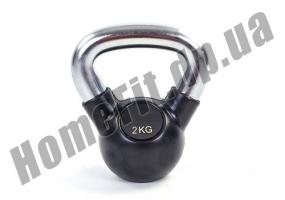 Гиря ZS для кроссфита и функционального тренинга от 2 до 36 кг (обрезиненная): фото 4