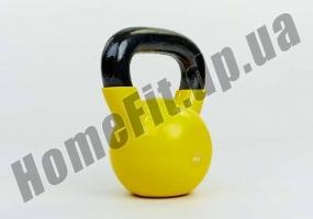 Гиря литая ZS от 2 до 24 кг с виниловым покрытием: фото 4