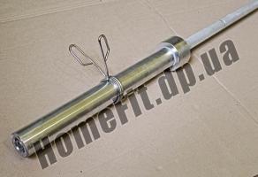 Гриф 2,2 м MK-2503 олимпийский оцинкованный купить в Кременчуге и Кировограде