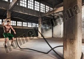Канат для кроссфита COMBAT BATTLE ROPE 12 м Ø50 мм: фото 2