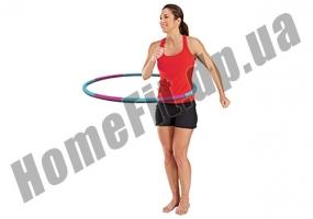 ХулаХуп - Массажный гимнастический обруч Fitness Ring 3012: фото 1