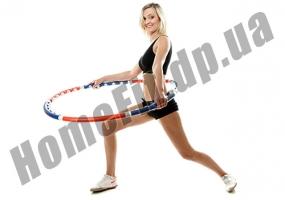 ХулаХуп Sport Hoop 6013 – массажный обруч с магнитными шариками: фото 1