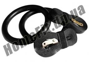 Кольца для кроссфита (гимнастические кольца): фото 1