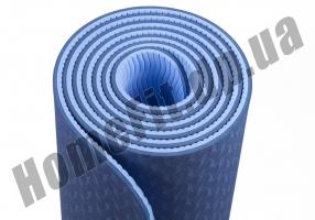 Коврик для йоги TPE, фитнеса, пилатеса, йогамат, фото 11