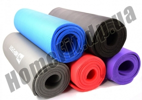 Коврик из вспененного каучука NBR для фитнеса, йоги и пилатеса фото 4