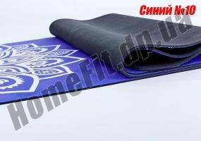 Коврик ZS для йоги из замши с каучуком: фото 17