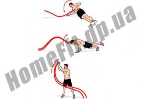 Настенное крепление для каната-кроссфит Battle Rope: фото 1