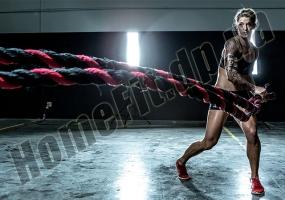 Настенное крепление для каната-кроссфит Battle Rope: фото 2