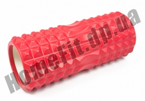 Массажный цилиндр Grid Roller 33 см v.1.2: фото 7