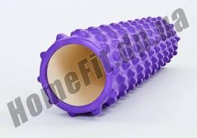 Валик массажный цилиндр Grid Roller RPO 3.0 60 см: фото 3