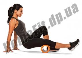Валик массажный Grid Roller R2 33 см для йоги, фитнеса, пилатеса: фото 10