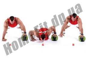 Набивной мяч (Медбол) WS с отскоком 1÷4: фото 7