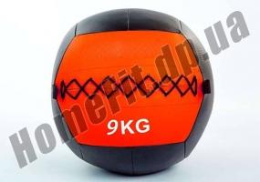Медицинский набивной мяч (медбол, волбол) Wall Ball от 3 до 10 кг: фото 3