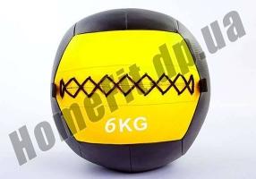 Медицинский набивной мяч (медбол, волбол) Wall Ball от 3 до 10 кг: фото 5