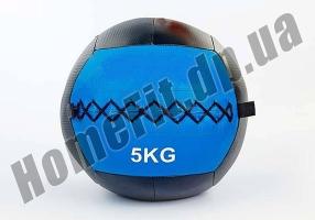 Медицинский набивной мяч (медбол, волбол) Wall Ball от 3 до 10 кг: фото 6