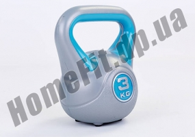 Фитнесс-гиря RA пластиковая, от 1 до 16 кг: фото 15