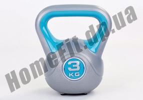 Фитнесс-гиря RA пластиковая, от 1 до 16 кг: фото 16