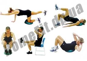 Балансировочная подушка (диск) Balance Cushion: фото 5