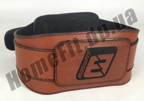 Пояс атлетический EasyFit Training Belt (кожа) EF-3359-BR: фото 1