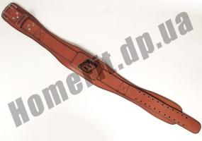 Пояс атлетический EasyFit Training Belt (кожа) EF-3359-BR: фото 3