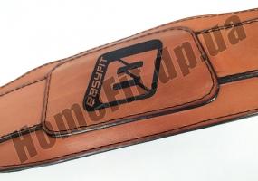 Пояс атлетический EasyFit Training Belt (кожа) EF-3359-BR: фото 4