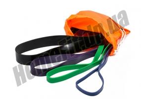 Резина для тренировок (фитнеса) – набор из 4 шт: фото 08