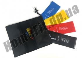 Резинки для фитнеса широкие GoDo Wide 7,5 см 4 шт: фото 2