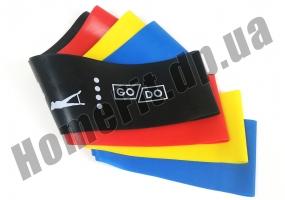 Резинки для фитнеса широкие GoDo Wide 7,5 см 4 шт: фото 4