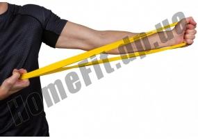 Резинки для фитнеса широкие GoDo Wide 7,5 см 4 шт: фото 9