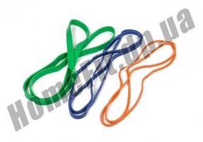 Резиновые петли для фитнеса и тренировок в наборе из 3 шт: фото 4